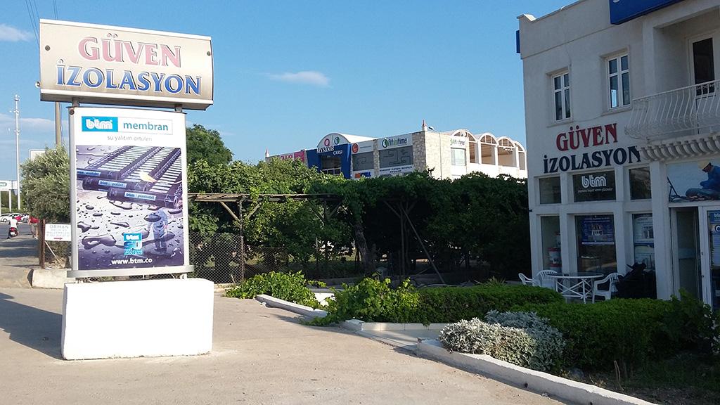 guven-izolasyon-bodrum-oasis-karsisi